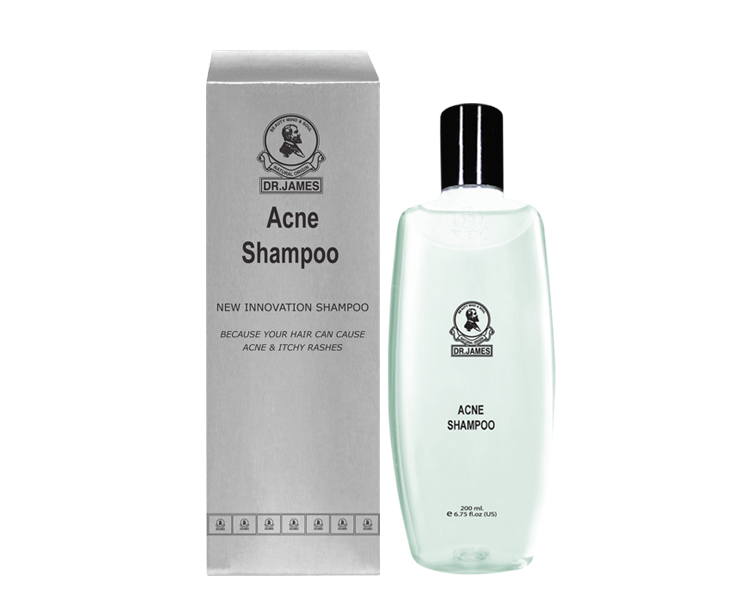 ***Out Of Stock*** H10 DR.JAMES ACNE SHAMPOO  200ml.