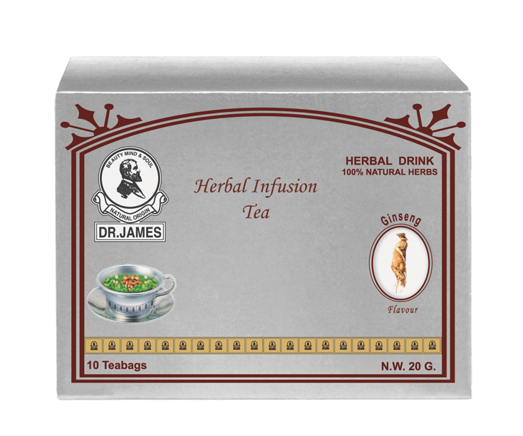 * No Stock * M10 DR.JAMES SLIMMING  TEA  (Gingko)