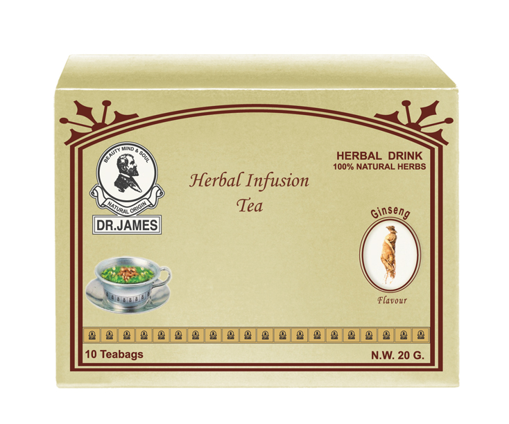 * No Stock * M11 DR.JAMES SLIMMING  TEA  (GINSENG)