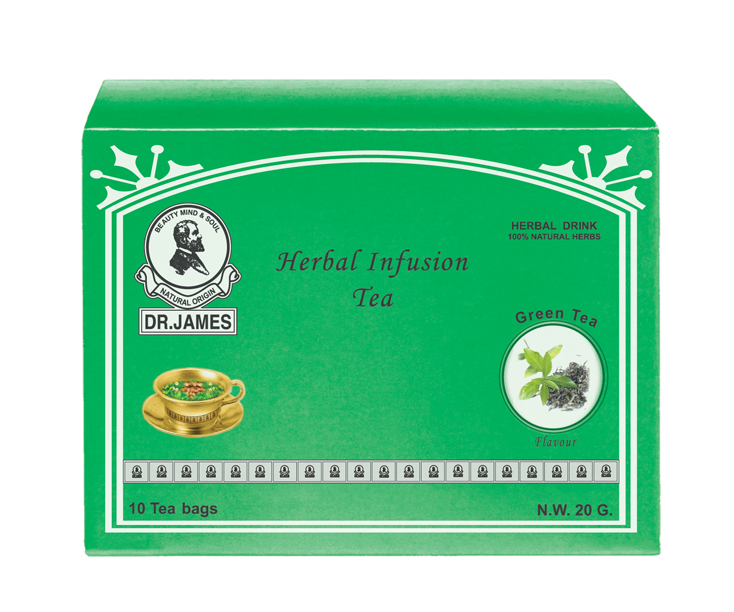 * No Stock * M12 DR.JAMES SLIMMING  TEA  (Green Tea) 10 pcs.