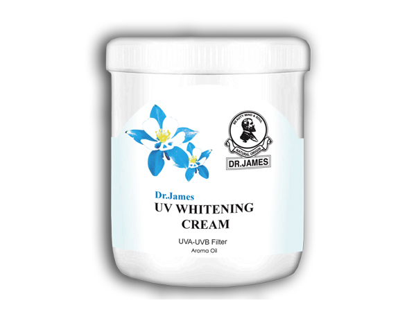B2 DR.JAMES UV Whitening Cream  250 g.