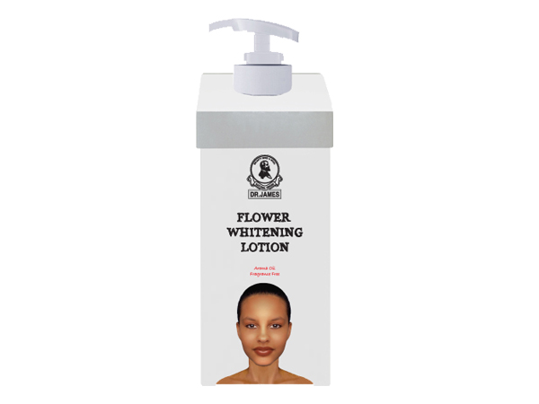 ***Out Of Stock***B43 DR.JAMES  FLOWER WHITENING LOTION (Medical Spa)   500ml.