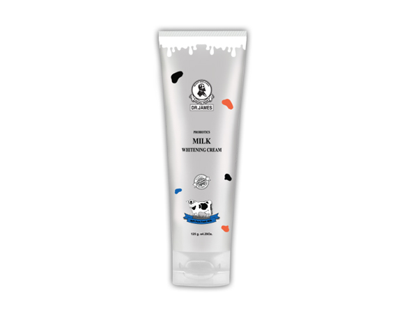 B56* DR.JAMES MILK WHITENING CREAM  125g.
