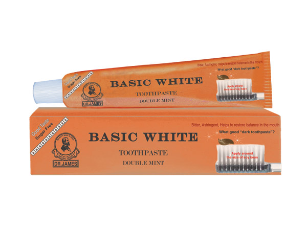 ***Out Of Stock*** F1 DR.JAMES BASIC WHITE TOOTHPASTE 30g