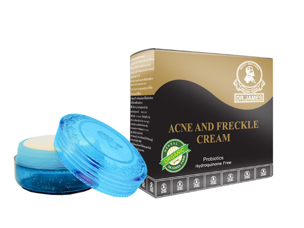 *Out Of Stock* C3 DR.JAMES ACNE AND FRECKLE CREAM 4g.