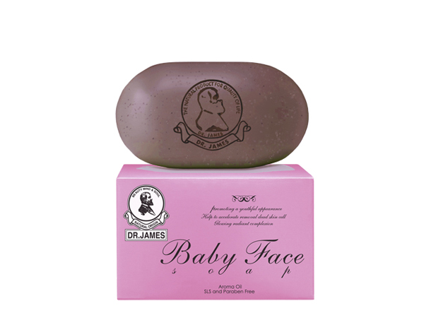 ***Out Of Stock*** S14* DR.JAMES BABY FACE SOAP 80g